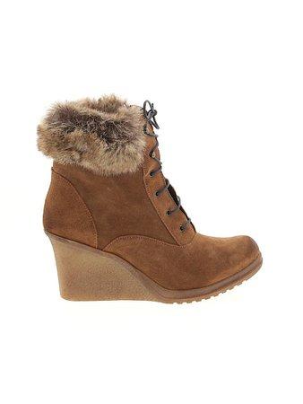 Sundance Solid Brown Tan Boots Size 39 (EU) - 67% off   thredUP