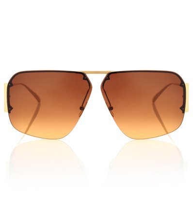 Aviator sunglasses, Bottega Veneta