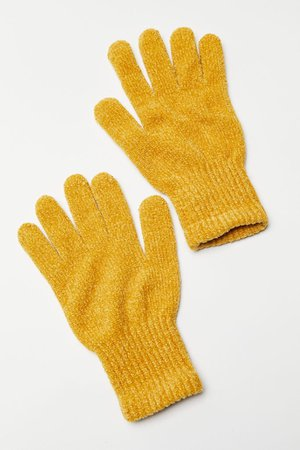 Chenille Glove | Urban Outfitters