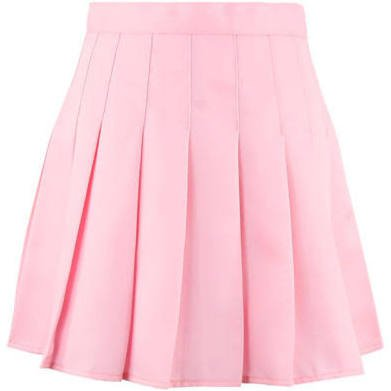 Japanese Preppy Style Pleated Skirt JK Uniform Pure Colour A-Line Skirt Students
