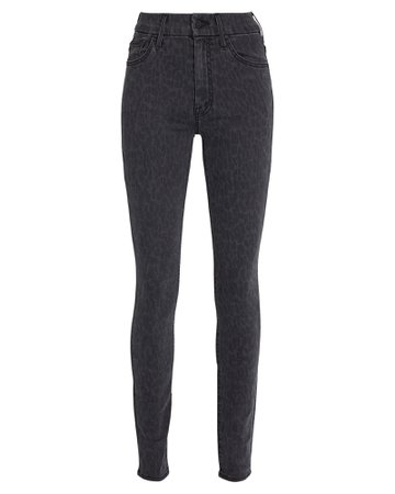 MOTHER The Looker High-Waist Skinny Jeans | INTERMIX®