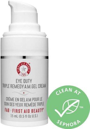 Eye Duty Triple Remedy A.M. Gel Cream