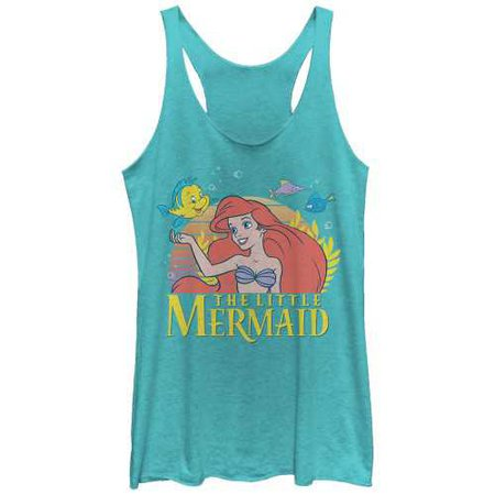Disney Women's - The Little Mermaid Ariel Classic Racerback Tank