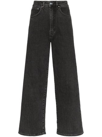 Toteme Cropped Flared Jeans - Farfetch