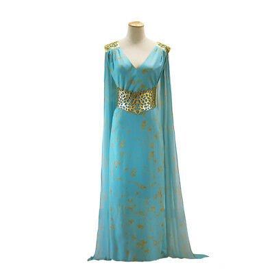 Game of Thrones Daenerys Targaryen Costume Dress Qarth Gown GOT Khaleesi Cosplay | eBay