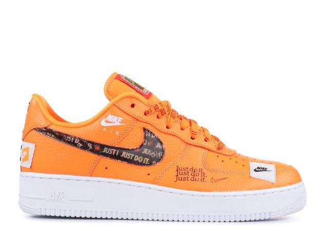 "Air Force 1 07 Prm Jdi ""just Do It"" - Nike - ar7719 800 - total orange/total orange | Flight Club"