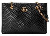 GG 2.0 Matelasse Medium Leather East/West Tote Bag
