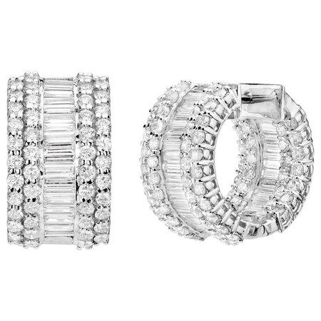 Diamond Earrings — Sheryl Jones