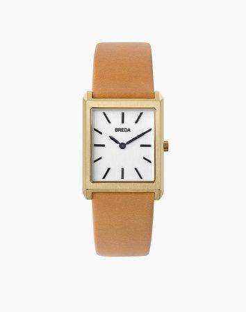 Breda 18k Gold-Plated Virgil Watch