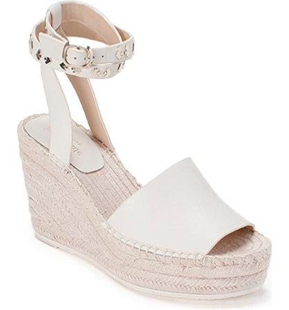 kate spade new york frenchy ankle strap espadrille wedge sandal (Women) | Nordstrom