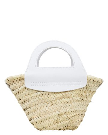 Small Cabas Straw Tote Bag