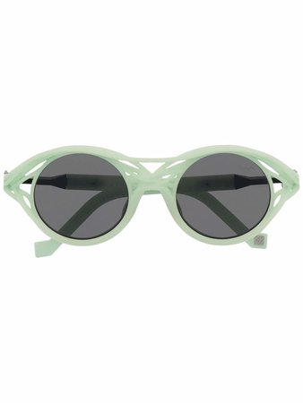 VAVA Eyewear x Kengo Kuma CL0015 Round Sunglasses - Farfetch