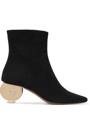 Neous | Moon suede ankle boots | NET-A-PORTER.COM