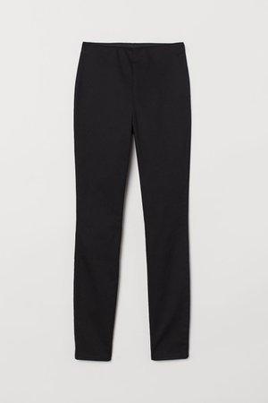 Slim-fit Pants - Black - | H&M US