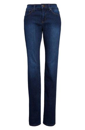 NYDJ Marilyn High Waist Stretch Straight Leg Jeans (Regular & Petite) | Nordstrom