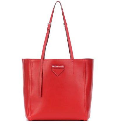 Prada Concept leather tote