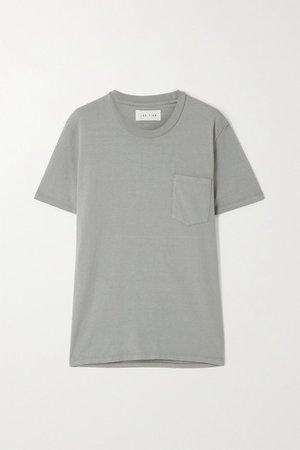 Cotton-jersey T-shirt - Green