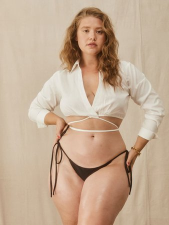 Mure Bikini Bottom - Sustainable Swimwear   Reformation