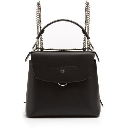 "Fendi ""Back to School"" Mini Leather Backpack"