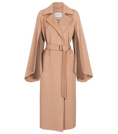 MAX MARA Milano camel hair coat