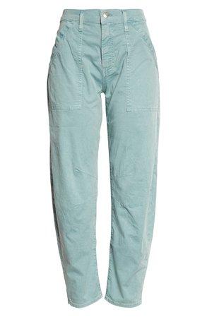 Veronica Beard Charlie Barrel Crop Pants | Nordstrom