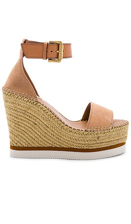 See By Chloe Glyn Wedge Sandal in Cirpria | REVOLVE