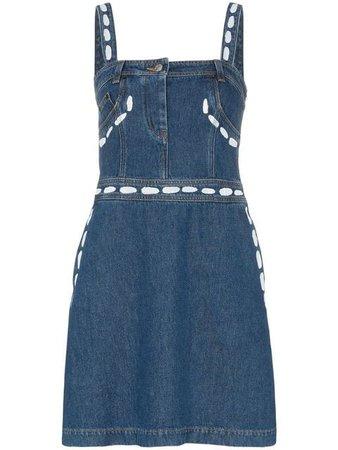 Moschino джинсовое платье 'This Strap' с квадратным вырезом - Купить в Интернет Магазине в Москве | Цены, Фото.