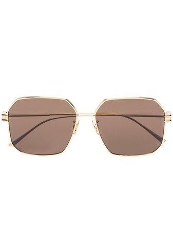Bottega Veneta Eyewear square-frame Tinted Sunglasses - Farfetch
