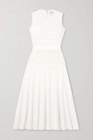 Bandage Midi Dress - White