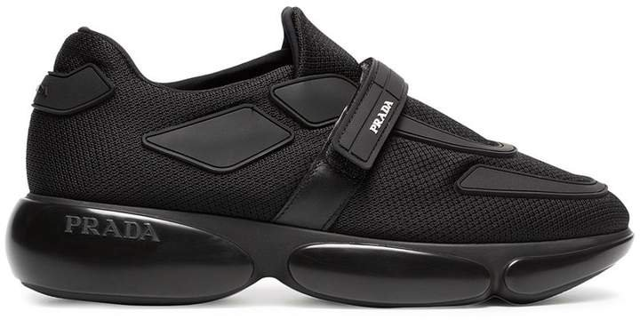 Black Cloudbust 40 leather sneakers