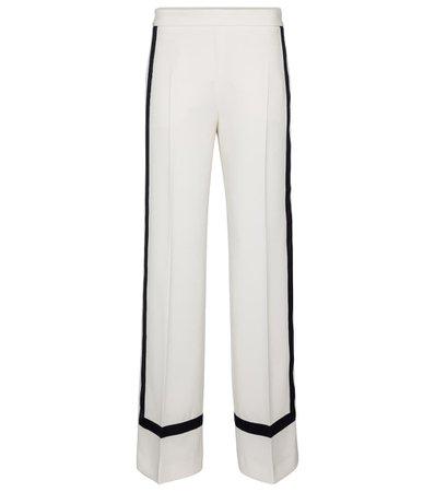 Max Mara - Cuneo high-rise wide crêpe pants   Mytheresa