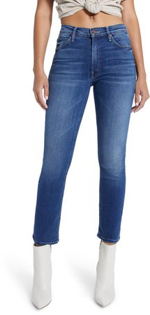 The Mid Rise Dazzler Straight Leg Jeans