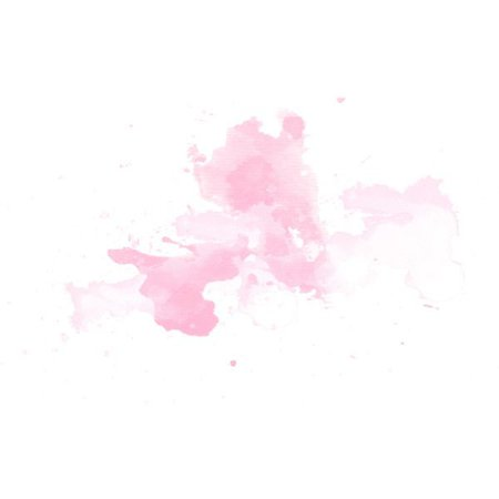 pink watercolour