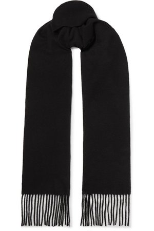 Acne Studios | Canada fringed wool scarf | NET-A-PORTER.COM