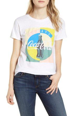 Lucky Brand Coca-Cola® Multicolor Cotton Graphic Tee | Nordstrom