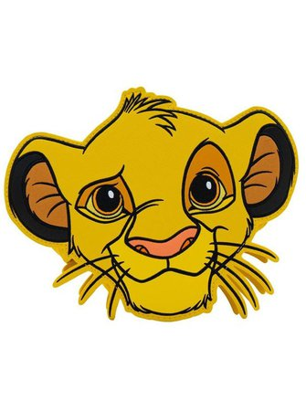 """""""Lion King: Simba"""" Crossbody Bag by Loungefly (Yellow) 