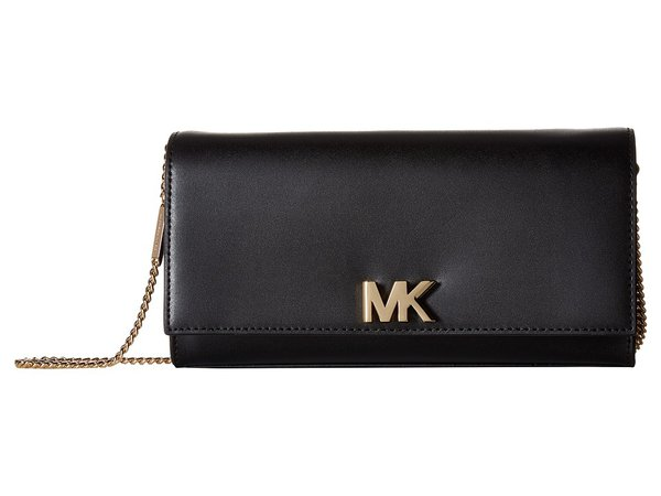 MICHAEL Michael Kors - Mott Large East/West Clutch (Black) Clutch Handbags