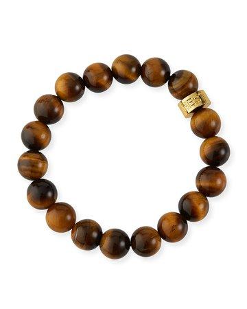 NEST Jewelry Tigers Eye Stretch Bracelet