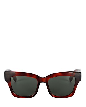 Le Specs Georgica Square Sunglasses | INTERMIX®