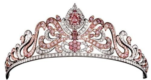 Honey — Linneys Argyle Pink Diamond Tiara