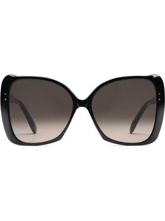 Gucci Eyewear Oversize Square-Frame Sunglasses GG0471S001 Black | Farfetch