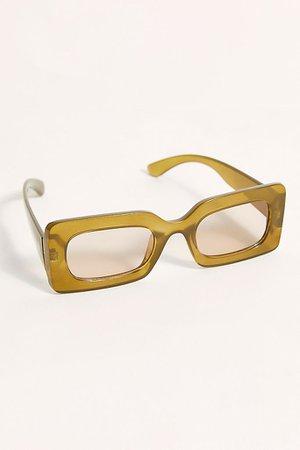 Temptation Rectangle Sunglasses | Free People