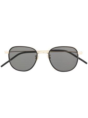 Saint Laurent Eyewear SL361 Square Sunglasses - Farfetch