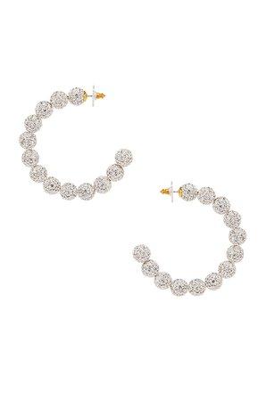 Stardust Crystal Hoop Earrings