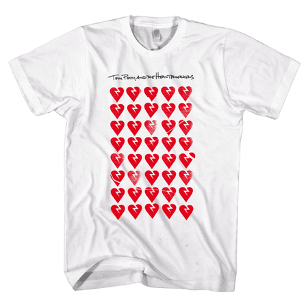 Allover Hearts T-shirt - Tom Petty & The Heartbreakers - Warner Bros. Records
