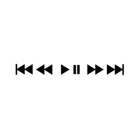 music buttons