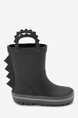 Buy Black Spike Wellies (Younger) from the Next UK online shop
