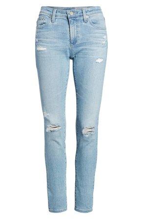 AG The Legging Ankle Super Skinny Jeans (20 Years - Oceana Destructed)   Nordstrom