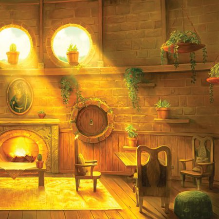 Hufflepuff common room - Pottermore