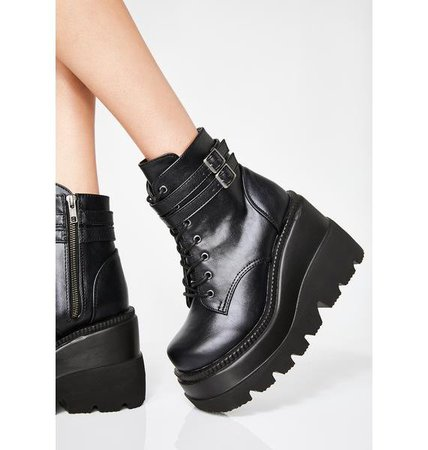 Demonia Technopagan Boots   Dolls Kill